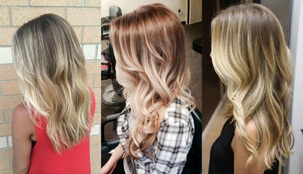 Varianty farebných kombinácií balayazh pre blond vlasy. Odrody ... b63fcb689fd