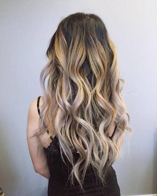 Strähnen silberne Silber Haare