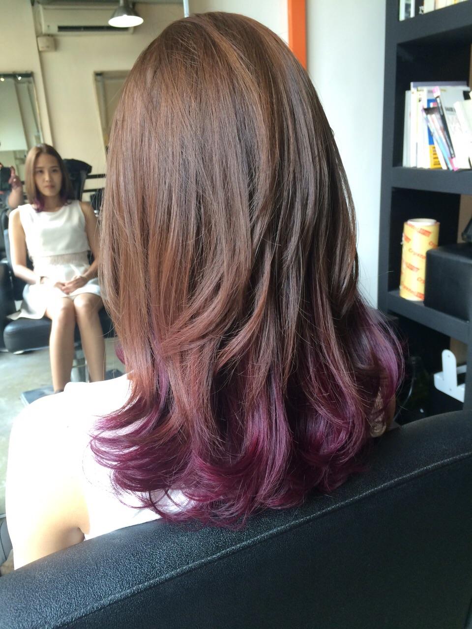 Ashen ombre doma. Ako farbiť vlasy ombre doma b52b56674fc